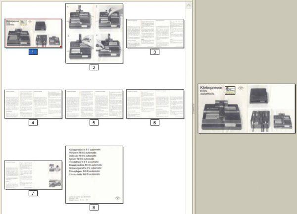 Agfa Splicer N8S Automatic Gebruikshandleiding Deutsch English Espanol Italiano Nederlands Dansk Svenska Suomi