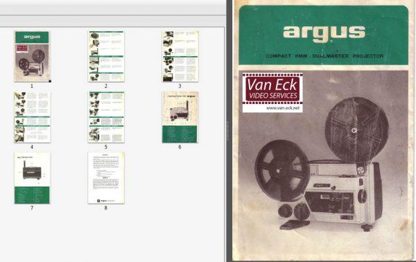 Argus Dualmaster 890Z Gebruikshandleiding English Francais