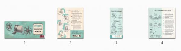 Baia Ediviewer Mark II Gebruikshandleiding, Talen: Engels