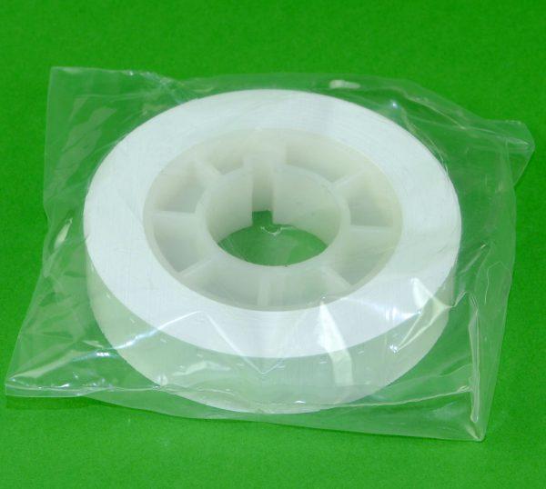 16mm Film Leader/ aanloopstrook wit plastic - Singel perforatie - 305m (1000ft)