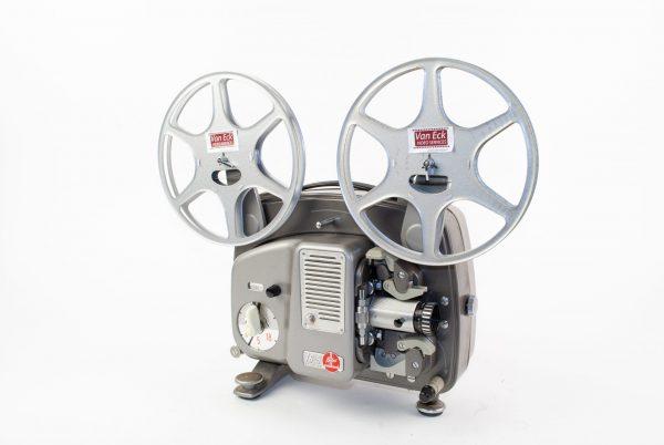 Bolex 18-5 automatic (Dubbel8 films- zonder geluid)