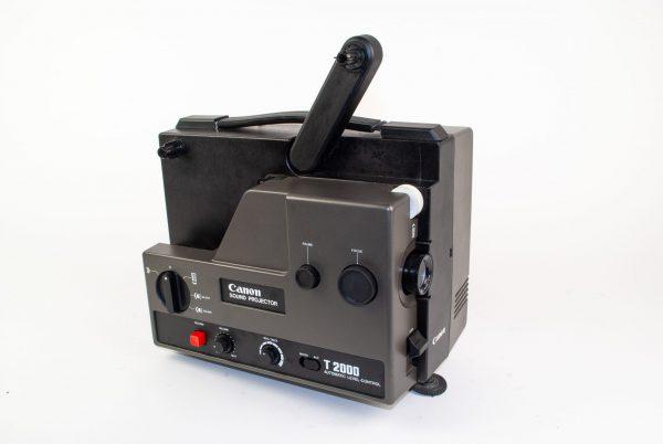 Canon T2000 Sound Projector (AC model) (Super8 films - met geluid)