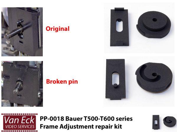 Bauer T500-T600-serie - Kader knop reparatieset