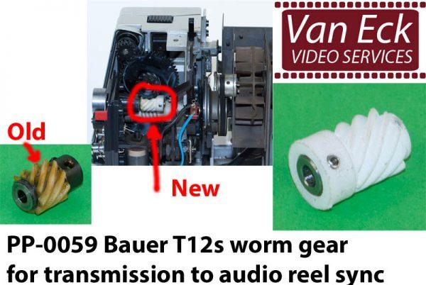 Bauer T12s - wormwiel