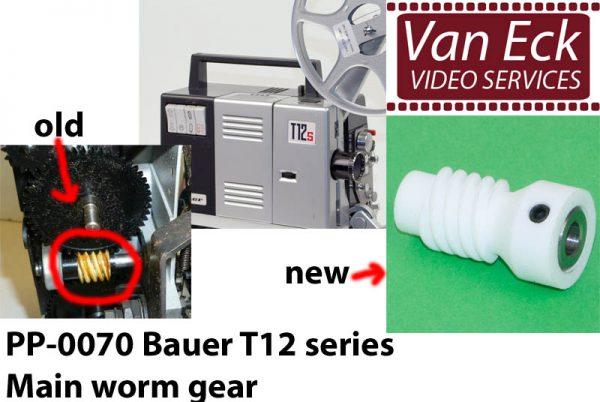 Bauer T12 series - hoofd wormwiel