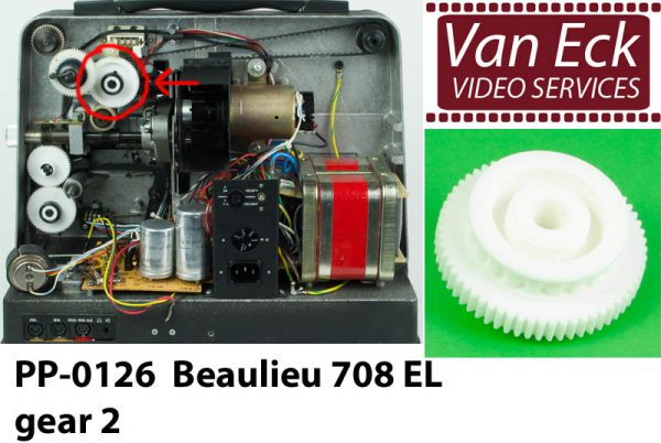 Beaulieu 708 EL gear 2