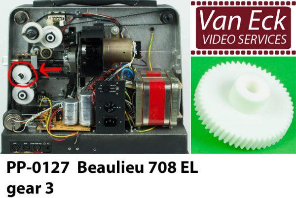 Beaulieu 708 EL gear 3