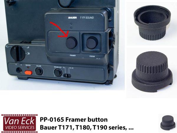 Bauer T170, T180, T190 series ... kader verstel knop