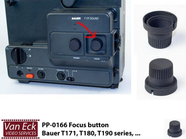 Bauer T170, T180, T190 series ... focus verstel knop