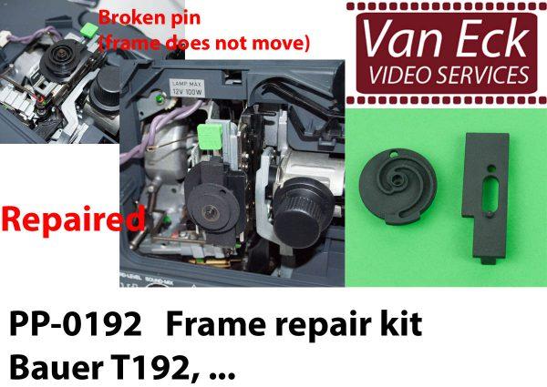 Bauer T170, T180, T190, ... - Kader knop reparatieset