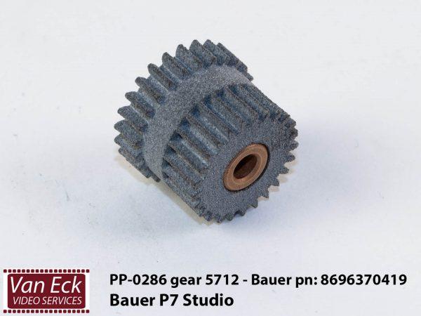 Bauer P7 studio - tandwiel 5712 - Bauer part no: 8696370419