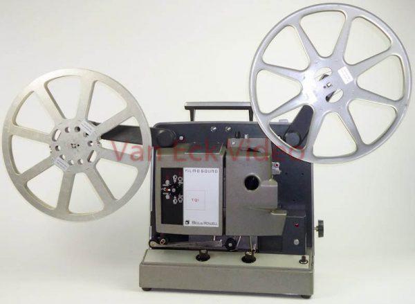 Bell & Howell Filmosound TQI (16mm films - met optisch geluid)