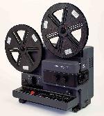 Bauer T502 Automatic Duoplay (Super8 films - met geluid - variabele snelheidsregeling)