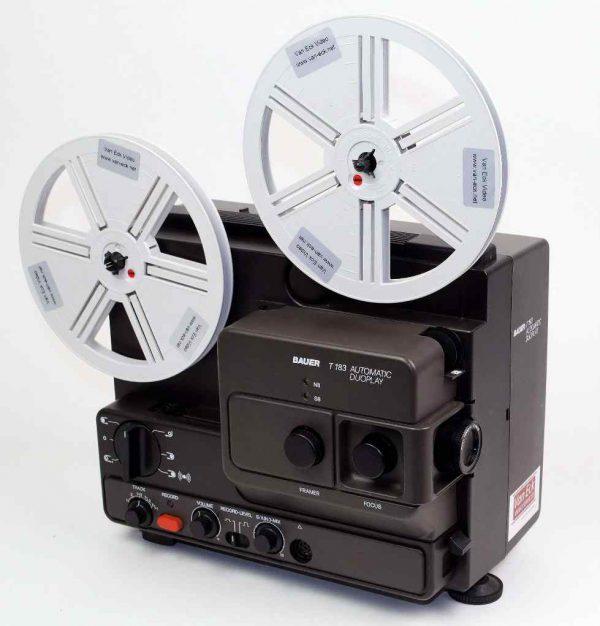 Bauer T183 Automatic Duoplay (Alle typen 8mm film - met geluid)