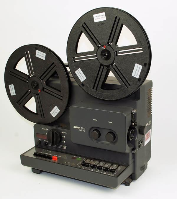 Bauer T 520 Duoplay (Super8 films - met geluid)