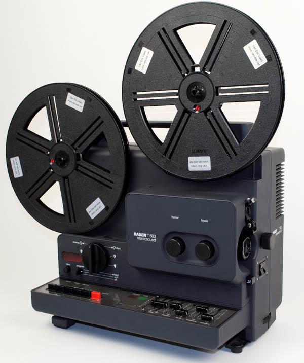 Bauer T600 StereoSound (Super8 films - met geluid)
