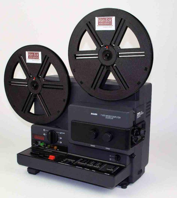 Bauer T525 Microcomputer Duoplay (Super8 films - met geluid - variabele snelheidsregeling)