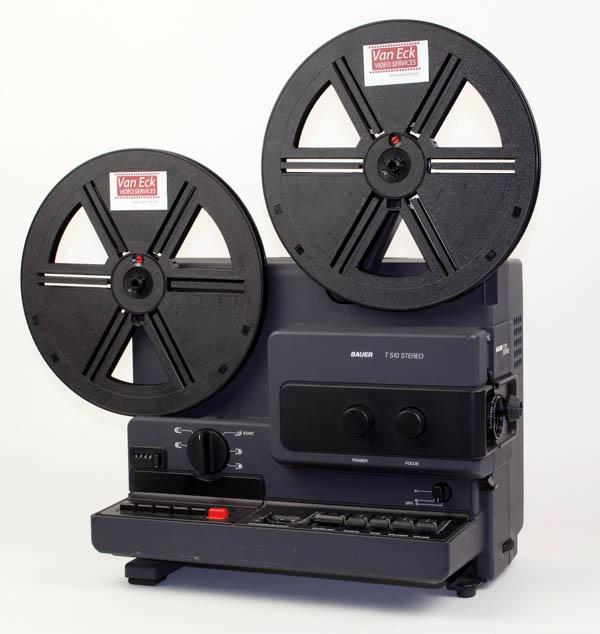Bauer T510 Stereo (Super8 films - met geluid - variabele snelheidsregeling)