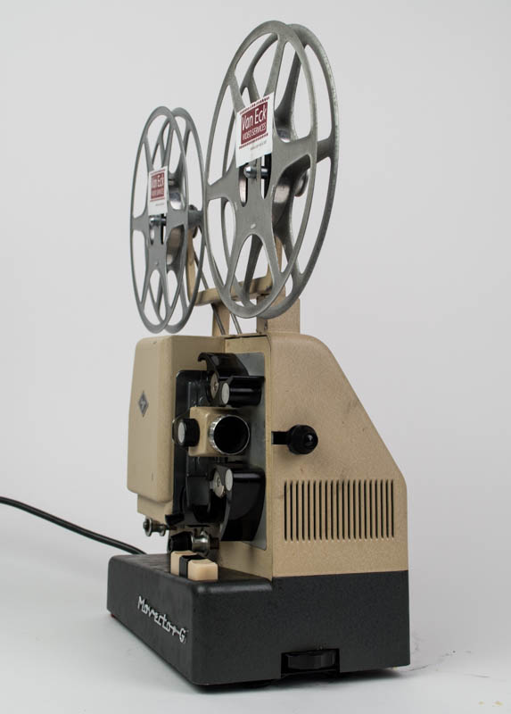 Agfa Movector-G (Dubbel8 films - zonder geluid)