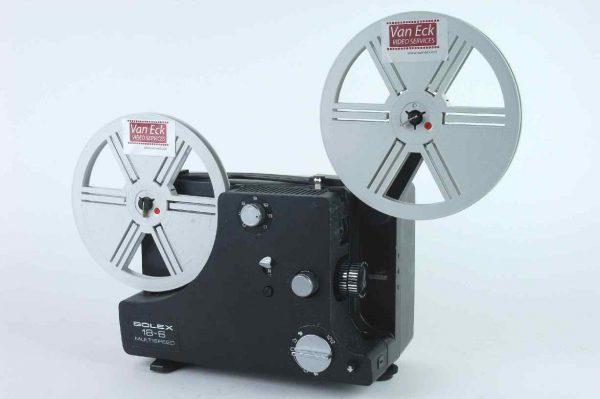 Bolex 18-6 Multispeed (Alle 8mm films - zonder geluid)
