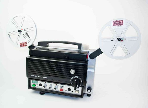 Chinon 8500 Sound (super8 - met geluid)