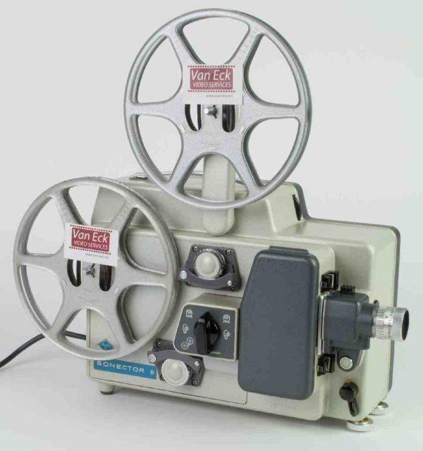 Agfa Sonector 8 (Dubbel8 films - zonder geluid)