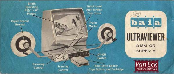 Baia Ultraviewer 8mm OR super8 Gebruikshandleiding English