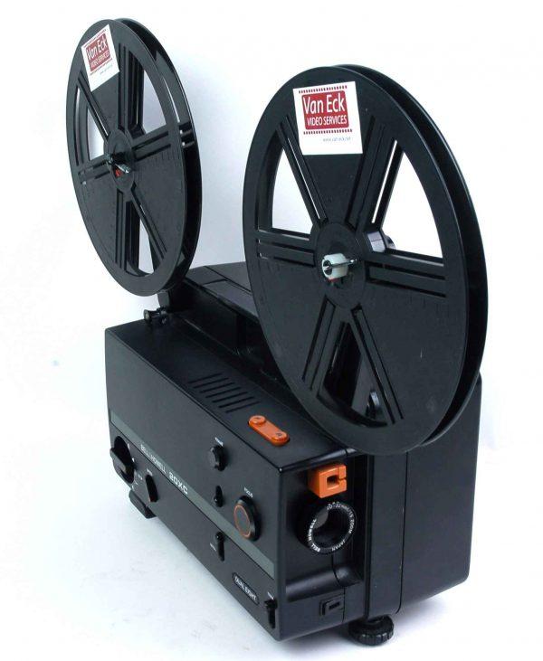 Bell & Howell 20XC (alle 8mm films - variabele snelheid - zonder geluid)
