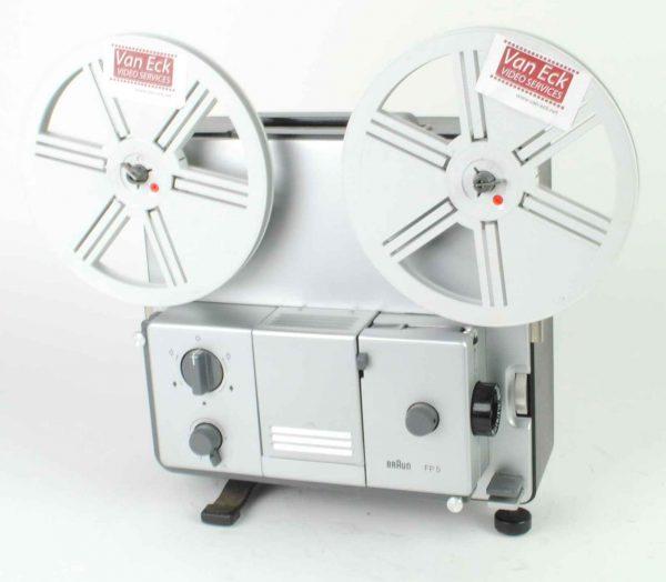 Braun FP5 (Super8 film - variabele snelheidsregeling - zonder geluid)