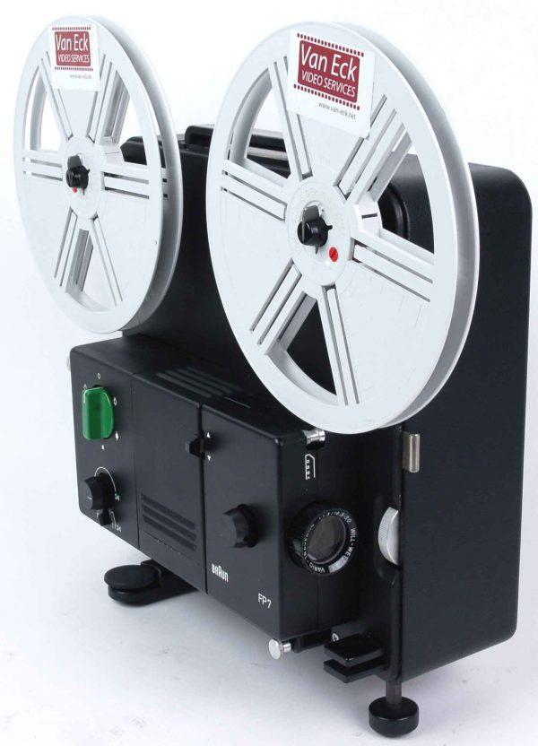 Braun FP7 (Super8 films - variabele snelheidsregeling - zonder geluid)