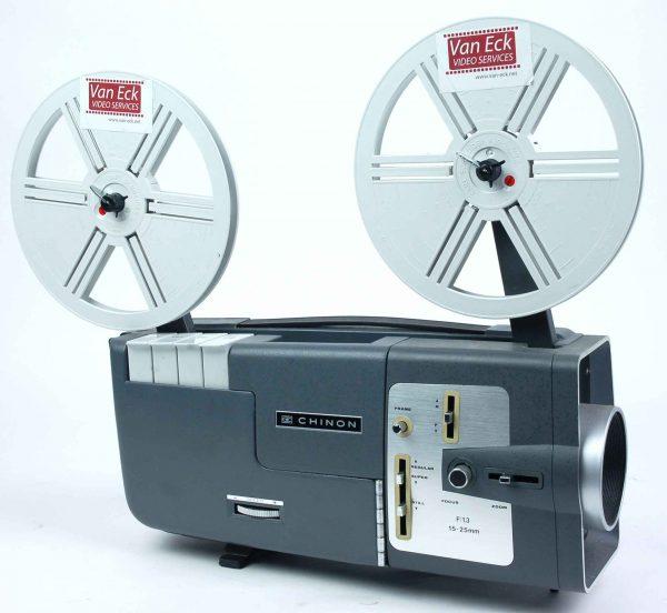 Chinon C-200 (alle 8mm - variabele snelheidsregeling - zonder geluid)