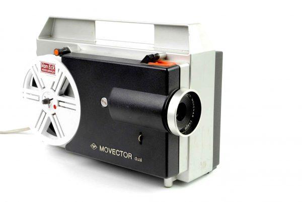 Agfa Movector Dual (Alle typen 8mm films - geen geluid- alleen 60m spoelen)