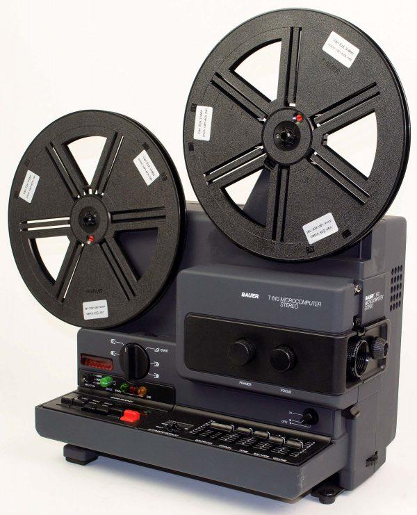 Bauer T610 Microcomputer Stereo (super8 - met geluid)