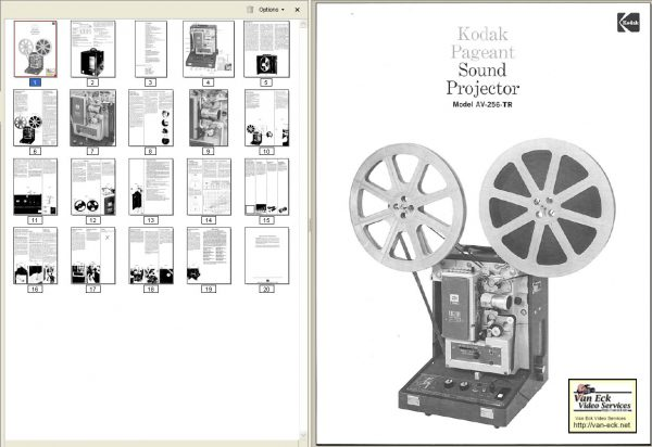 Kodak AV256TR Gebruikshandleiding english