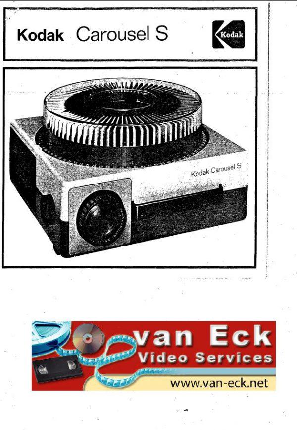 Kodak Carousel S Gebruikshandleiding Engels (English), Duits (Deutsch) & Frans (Francais)