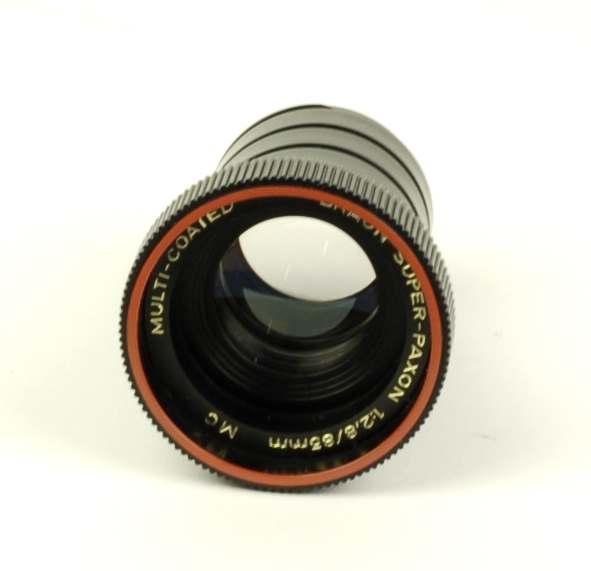 Objectief/lens - Braun Super-Paxon 1:2,8 / 85mm MC