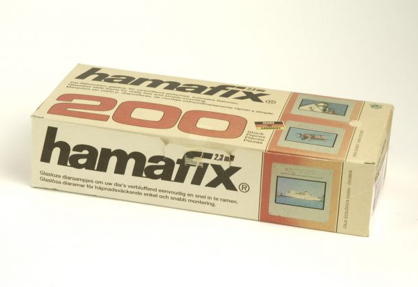 Hamafix plasic dia ramen (glasloos) 24 x 36, 2,3mm, 200 stuks