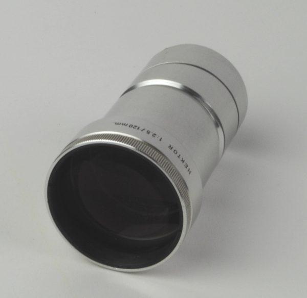 Objectief/lens - Leitz Wetzlar Germany Hektor 1:2,5 / 120mm