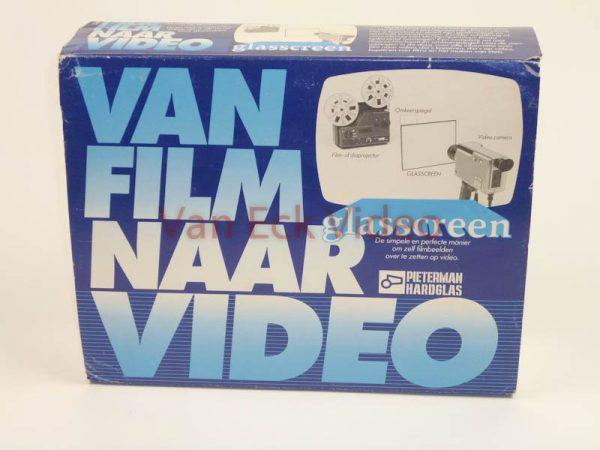 Glasscreen - Pieterman Hardglas - Van Film van Video