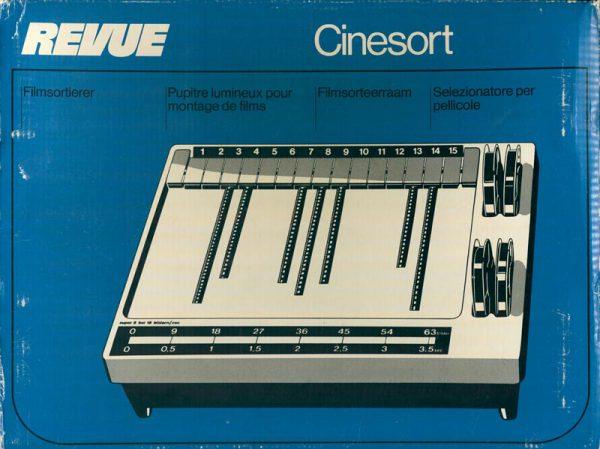 Revue Cinesort Film sorteerraam - 8133