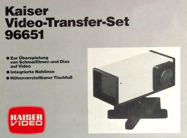 Kaiser Video-Transfer-Set 96651