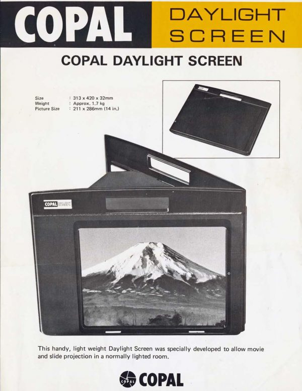 Copal Daglichtscherm - 14 inch