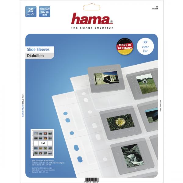 Hama Diahoesjes 5x5 25 Vellen helder No. 2004