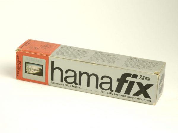 Hamafix plasic dia ramen (glasloos) 24 x 36, 2,3mm, 100 stuks