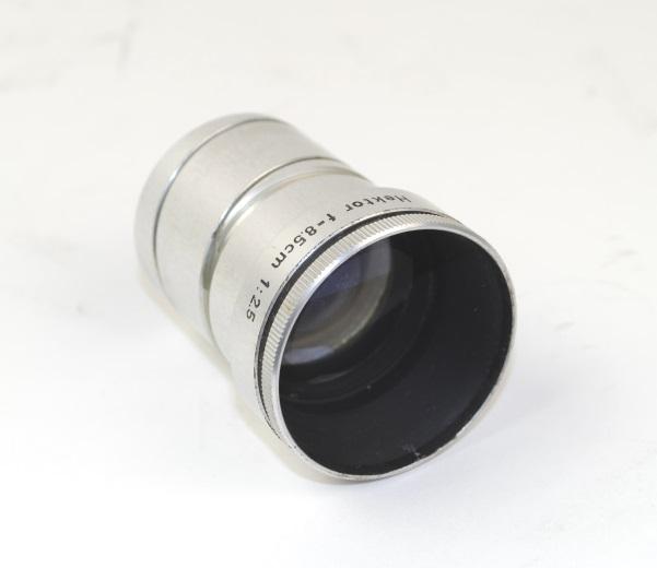 Objectief/lens - Ernst Leitz GmbH Wetzlar-Hektor 1:2,5 / 85mm