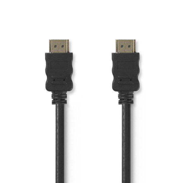 High Speed HDMI™-kabel met Ethernet   HDMI™-connector - HDMI™-connector   1,5m   Zwart