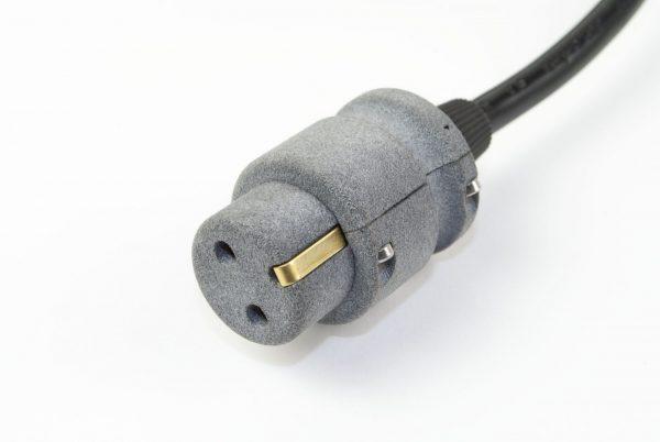 Netsnoer Elmo - twee pins met randwaarde- Europese stekker, 2m kabel (KA-0056)