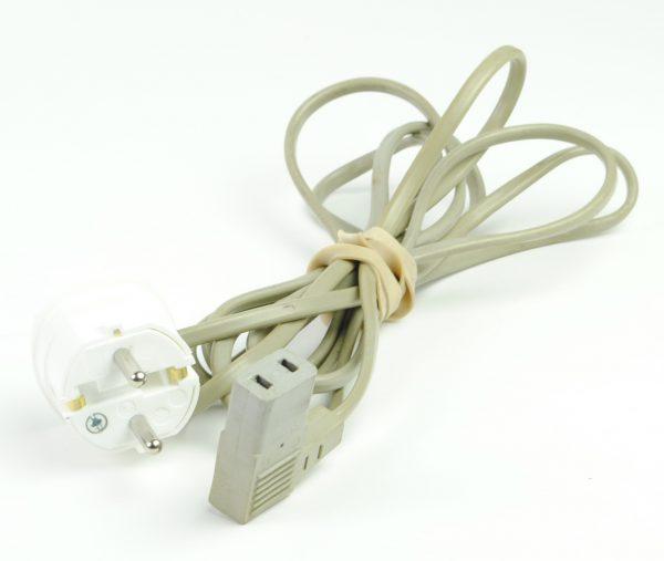 Netsnoer 2-pins aansluiting (tweepolig)