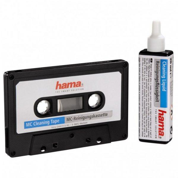 Hama Reinigingscassette Audioclean + vloeibare reiniging (Hama 44708)