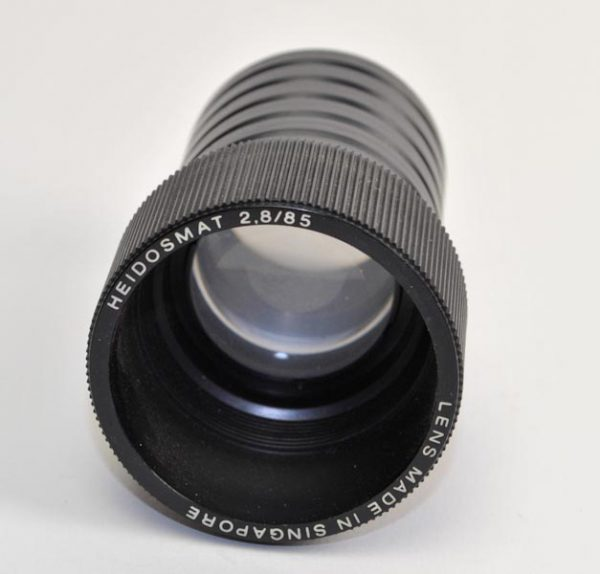 Objectief/lens - Heidosmat 2,8 / 85
